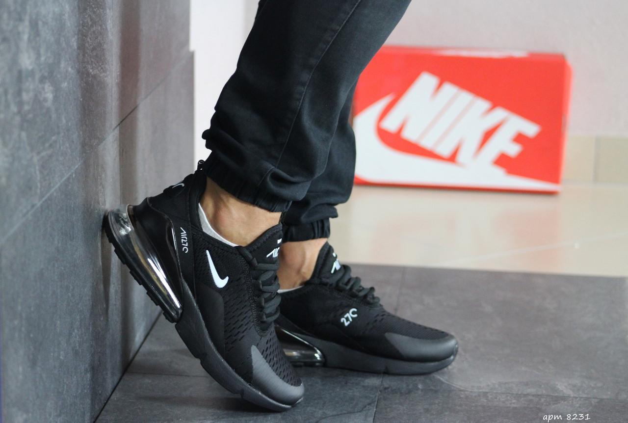 Чоловічі кросівки Nike Air Max 270 (чорні)