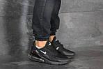 Чоловічі кросівки Nike Air Max 270 (чорні), фото 2