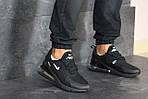 Чоловічі кросівки Nike Air Max 270 (чорні), фото 5