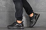 Чоловічі кросівки Nike Air Max 270 (чорні), фото 4