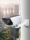 Аккумуляторная IP камера видеонаблюдения CAD F20 2 mp с солнечной панелью, фото 7