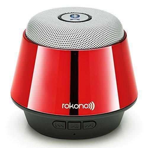 Портативная bluetooth MP3 колонка Rokono B10 Red