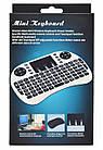 Беспроводная русская клавиатура с тачпадом UKC i8 2.4G, фото 5