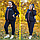 Женский костюм спортивный тройка на меху, с 48 по 98 размер, фото 6