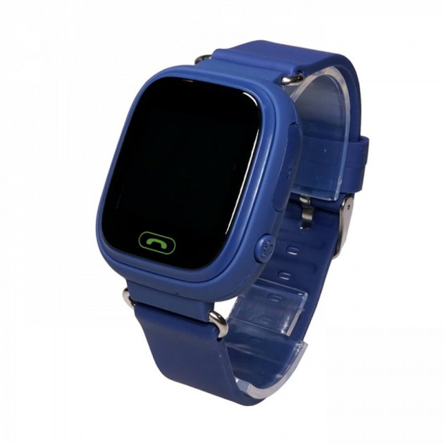 Умные детские часы-телефон с GPS трекером Smart Baby Watch Q100 Синие