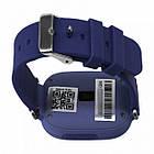 Умные детские часы-телефон с GPS трекером Smart Baby Watch Q100 Синие, фото 2