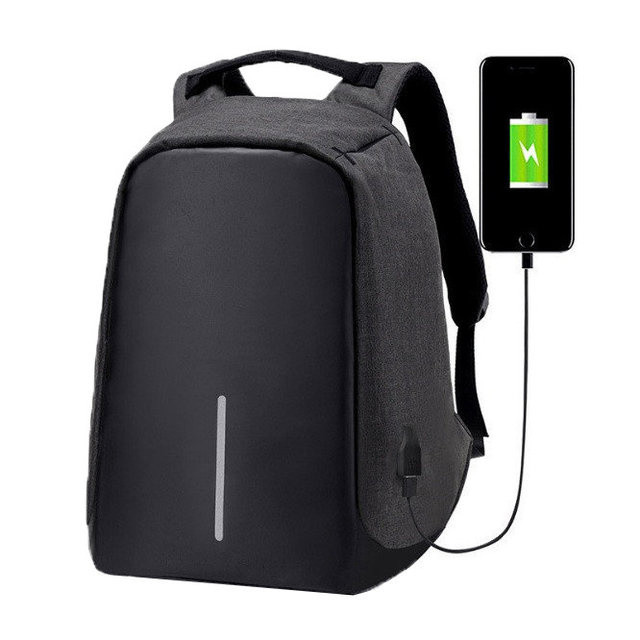 Рюкзак Антивор XD Design Bobby с защитой от карманников Black