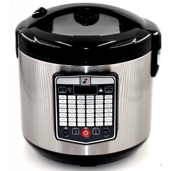Кухонная мультиварка на 45 программ Promotec 524 (006665) Чёрная