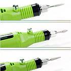 Машинка для маникюра и педикюра 6 в 1, Зелёный, фото 4