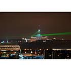 Аккумуляторная зеленая лазерная указка Laser Pointer Green 03-3 USB (1 насадка), фото 2
