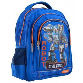 """Рюкзак школьный 1 Вересня S-22 """"Steel Force"""""""
