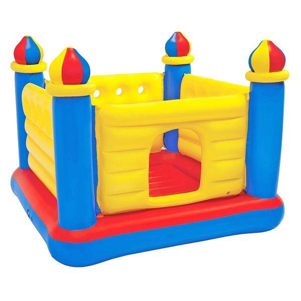 Надувной игровой центр-батут Intex 48259 (1.75 x 1.75 x 1.35 см) Jump-O-Lene Castle Bouncer
