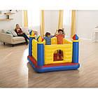 Надувной игровой центр-батут Intex 48259 (1.75 x 1.75 x 1.35 см) Jump-O-Lene Castle Bouncer, фото 2