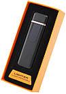 Спиральная электрическая USB зажигалка UKC 180 (AUDI) Black, фото 4