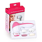Массажер для лица Beauty Care Massager AE-8782 5 in 1 Белый/розовый (np2_0929), фото 3