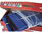 Тканевый складной шкаф HCX «88105 blue» 105х45х170 см Синий, фото 4