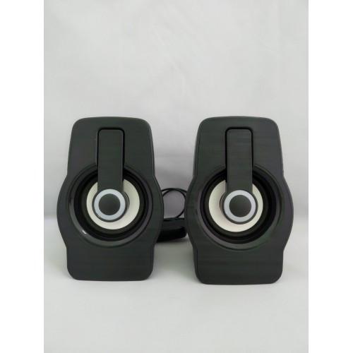 Компьютерные колонки акустика 2.0 USB FT FT-185 Чёрные