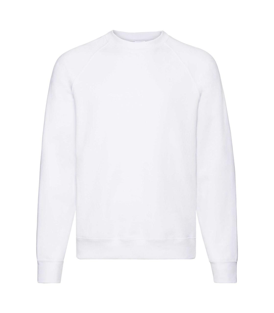 Мужской свитер-реглан утепленный белый 216-30