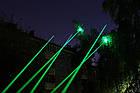 Лазерная указка Laser Green черный 5 насадок, фото 6