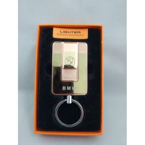 Электроимпульсная зажигалка Lighter 811 спиральная usb зажигалка юсб BMW Золотая
