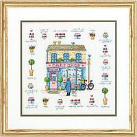 Набор для вышивания Dimensions 70-35352 Cake Shop Cross Stitch Kit, фото 1
