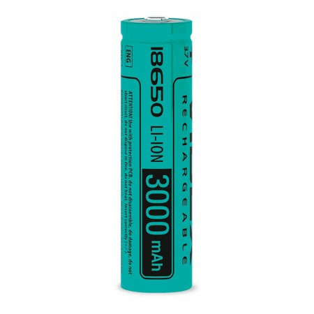 Акумулятор Li-Ion 18650 (без захисту) 3000mAh 1шт Videx