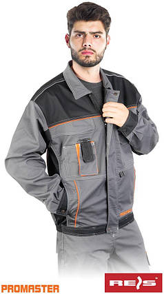 Куртка рабочая REIS Польша (рабочая одежда) PRO-STRECH-J SBP, фото 2