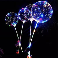 Воздушные шарики бобо с подсветкой с ручкой Bobo Led 130475