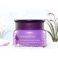 Антивозрастной крем с экстрактом орхидеи Innisfree Jeju Orchid Enriched Cream 5 и 50мл