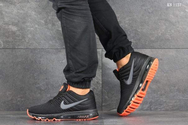 Мужские кроссовки Nike Air Max 2017 (темно серые)