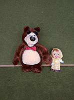 Персонажи мультфильма Маша и Медведь