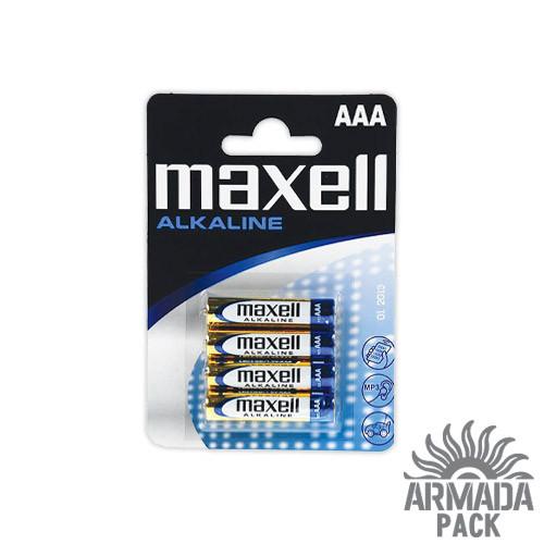 Батарейки Maxell Alkaline AAA LR3 (4 шт)