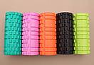 Массажный ролик Grid Roller 33 см v.1.1, фото 7