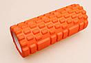 Массажный ролик Grid Roller 33 см v.1.1, фото 5