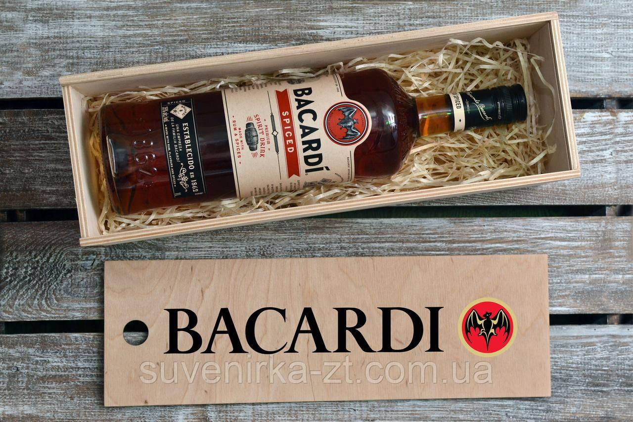 Коробка из фанеры с раздвижной крышкой. Для алкоголя. (А00803)