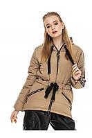 ✔️ Куртка женская демисезонная 44-54 размера оливковая