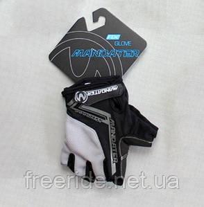 Велоперчатки безпалі Mandater RX Glove (чорні) L