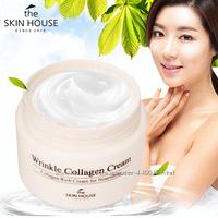 Антивозрастной питательный крем с морским коллагеном The Skin House Wrinkle Collagen Cream, 50 мл, фото 1