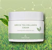 Колагеновий крем з зеленим чаєм The Skin House Green Tea Collagen Cream, 50мл