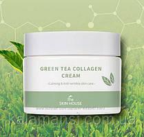 Коллагеновый крем с зелёным чаем The Skin House Green Tea Collagen Cream, 50мл