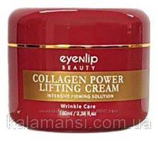 Лифтинг крем с коллагеном Eyenlip, Collagen Power Lifting Cream 15 и 100мл