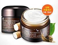 Идеальный питательный улиточный крем Mizon Snail Repair Perfect Cream 50мл