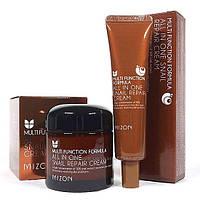 Крем с экстрактом улитки 92 MIZON All in One Snail Repair Cream 35, 75мл