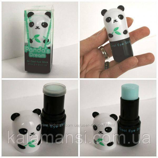 Охлаждающий стик для кожи вокруг глаз Tony Moly Pandas Dream So Cool Eye Stick 9гр