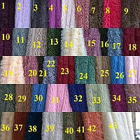 Покрывало плед одеяло травка 220х240  меховое пушистое с длинным ворсом евро размер разные цвета