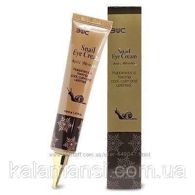 Омолаживающий крем для кожи вокруг глаз с секретом улитки 3W CLINIC, Snail Eye Cream Anti-Wrinkle 40 мл