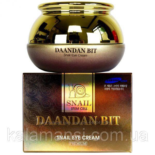 Улиточный крем лифтинг для век с стволовыми клетками Daandan Bit Snail 50мл