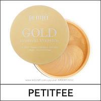 Гидрогелевые патчи с комплексом из 5 компонентов Petitfee Gold Hydrogel Eye Patch