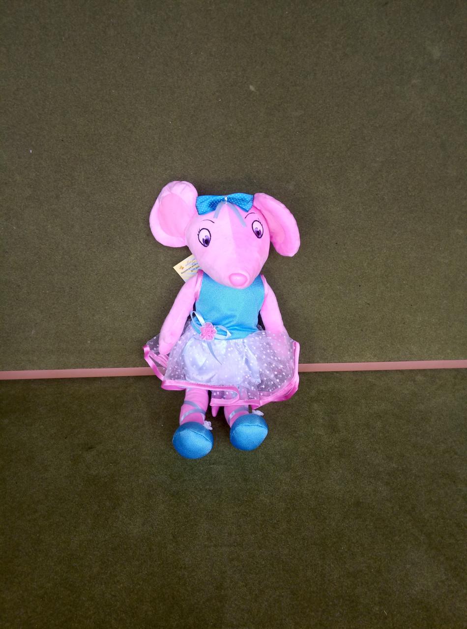 Мягкая кукла - мышка балерина