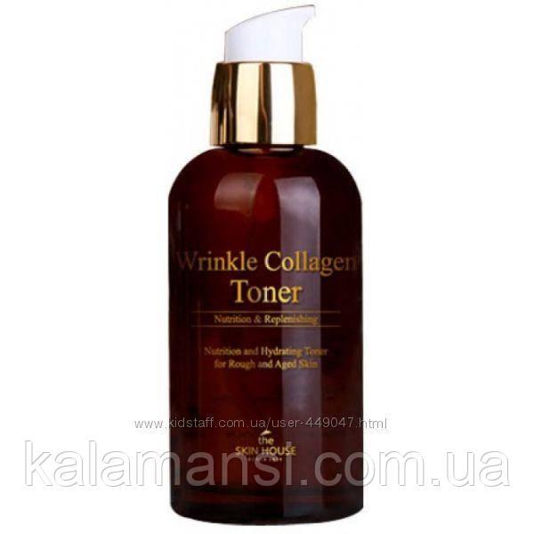 Антивозрастной тонер с коллагеном The Skin House Wrinkle Collagen Toner 130мл